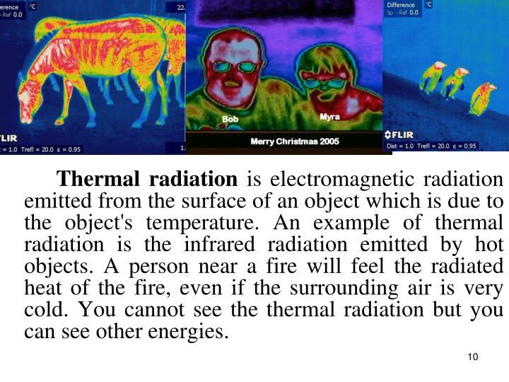 Thermal radiation