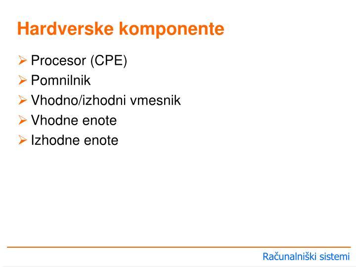 Procesor (CPE)