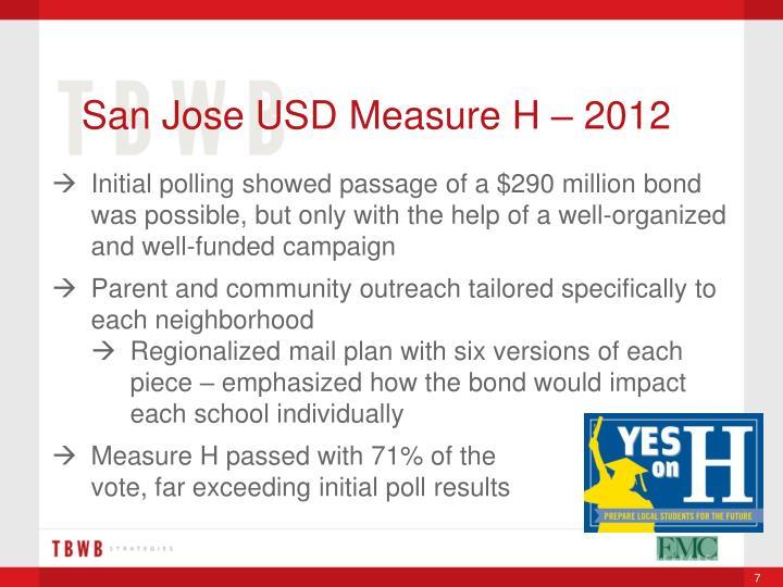 San Jose USD