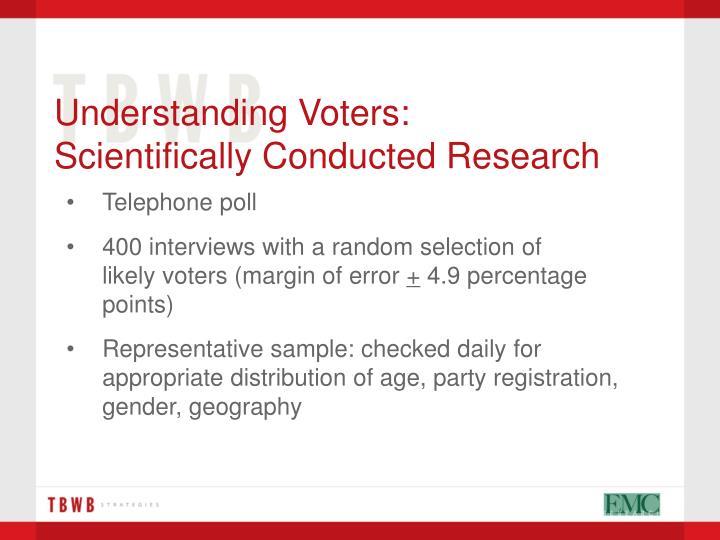Understanding Voters: