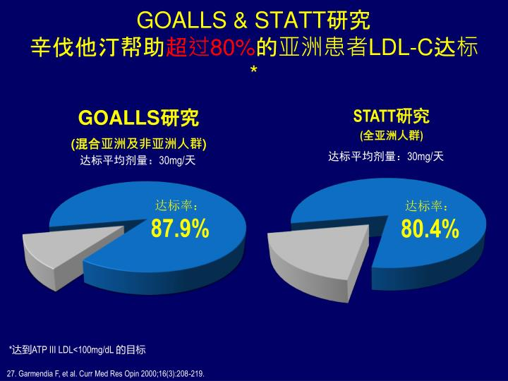 GOALLS & STATT