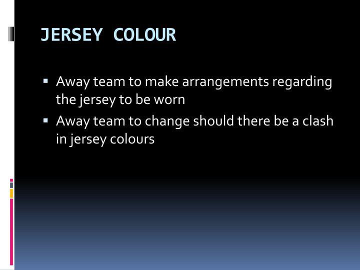 JERSEY COLOUR