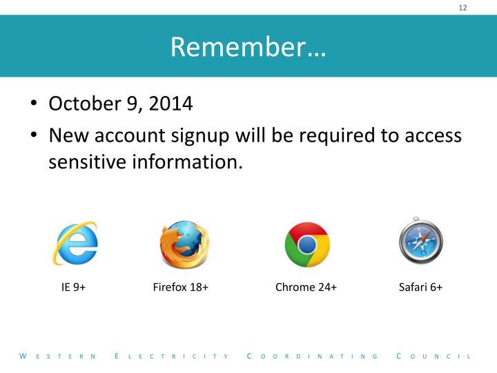 October 9, 2014