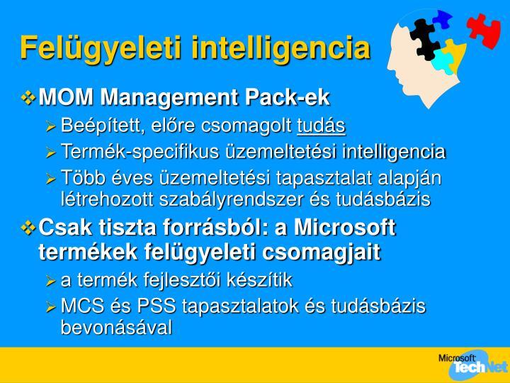 Felügyeleti intelligencia