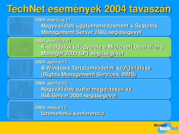 TechNet események 200
