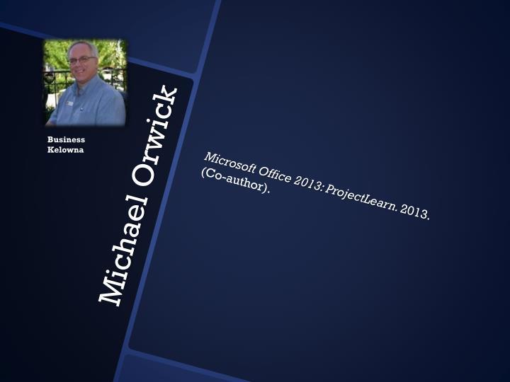 Microsoft Office 2013: