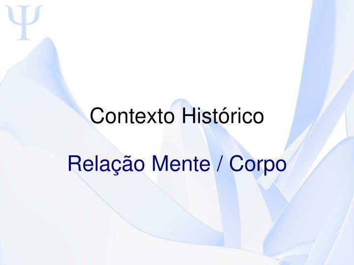 Contexto Histrico