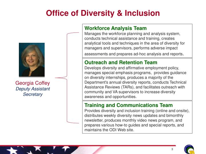 Office of diversity inclusion