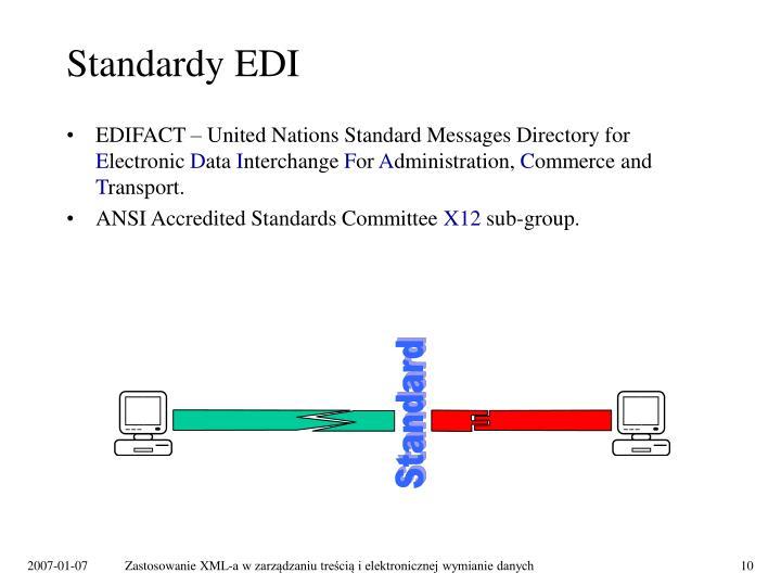 Standardy EDI