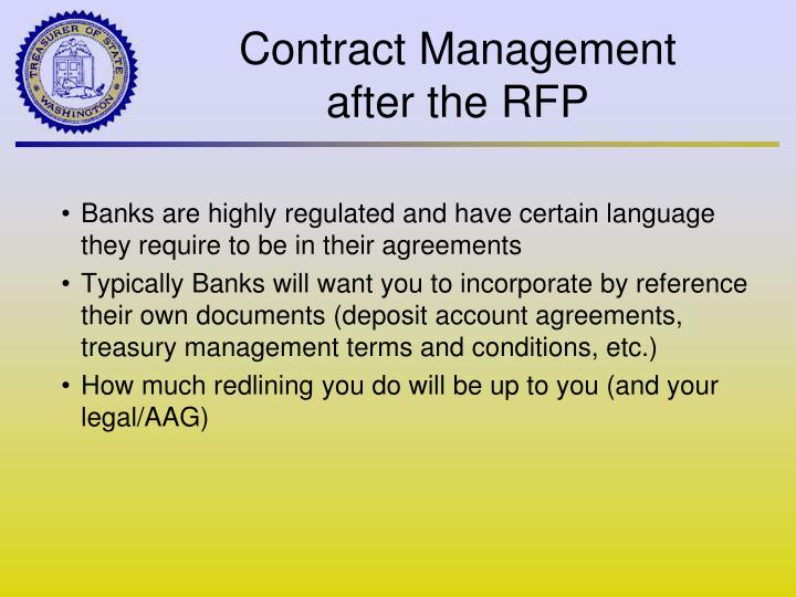 Banks are highly regulated and have certain language they require to be in their agreements