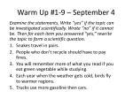 warm up 1 9 september 4