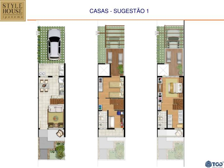 CASAS - SUGESTÃO 1