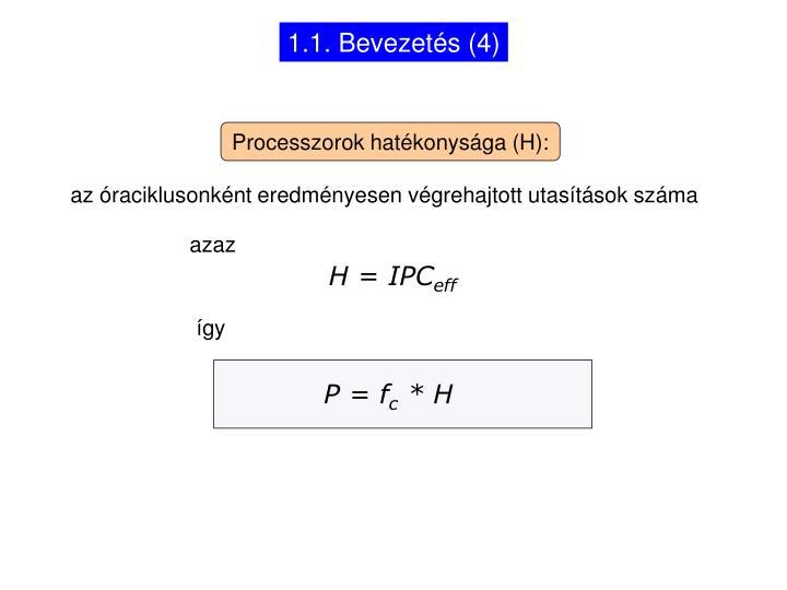 1.1. Bevezetés (