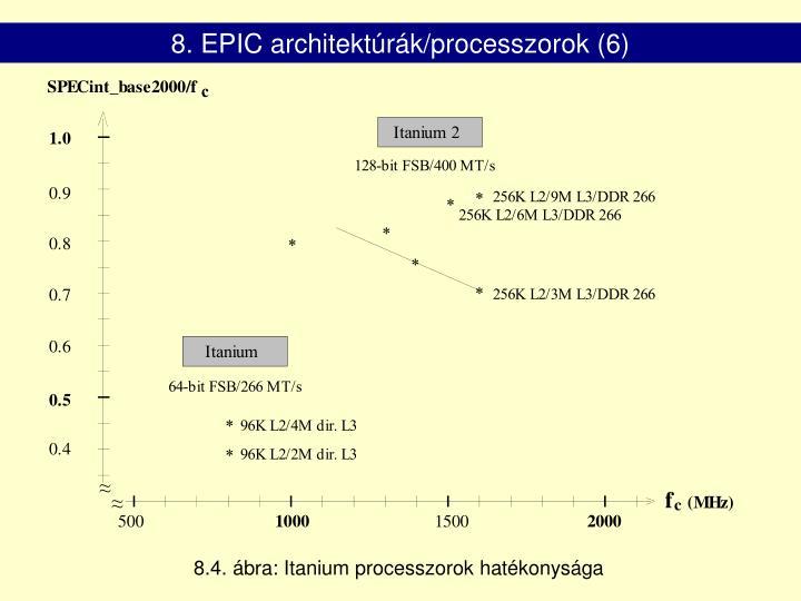 8. EPIC architektúrák/processzorok (