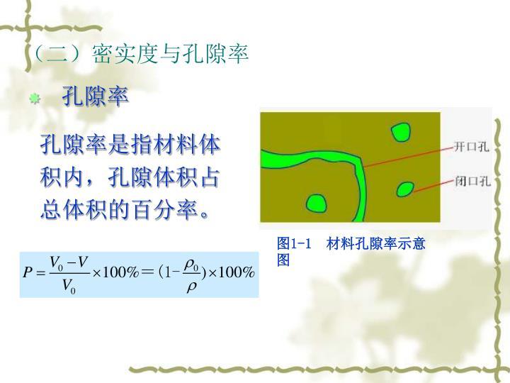 (二)密实度与孔隙率