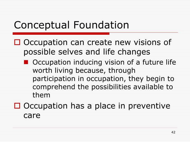 Conceptual Foundation