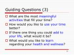guiding questions 3