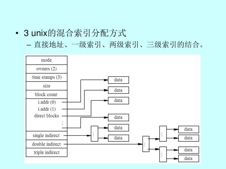 3 unix