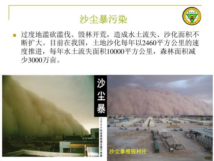 沙尘暴污染