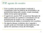 p3p agente do usu rio1