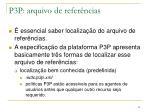 p3p arquivo de refer ncias4