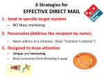 6 strategies for effective direct mail