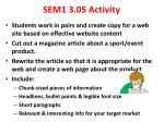 sem1 3 05 activity
