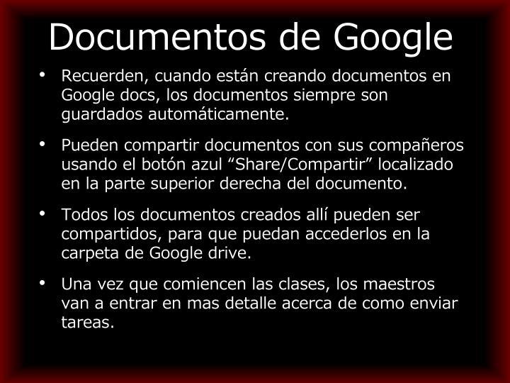 Documentos de