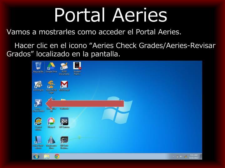 Portal Aeries
