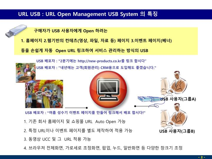 URL USB : URL Open Management USB System