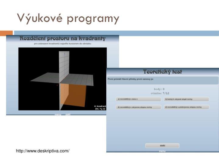 Výukové programy
