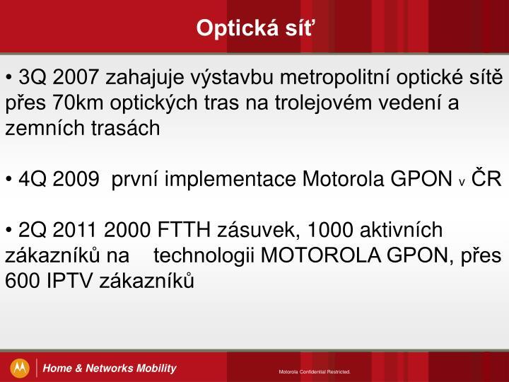 Optická síť