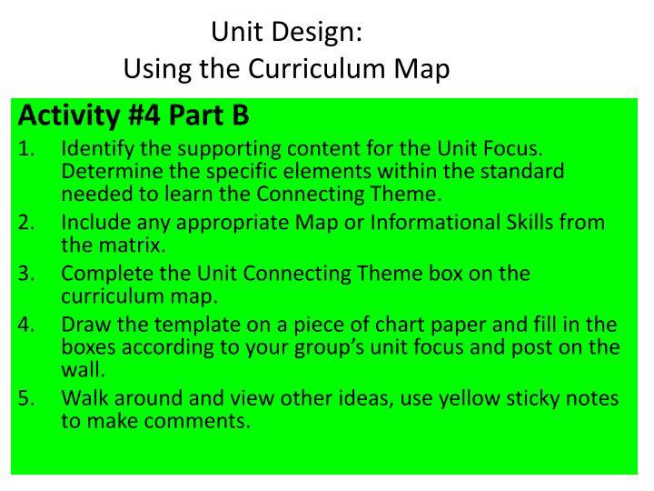 Unit Design: