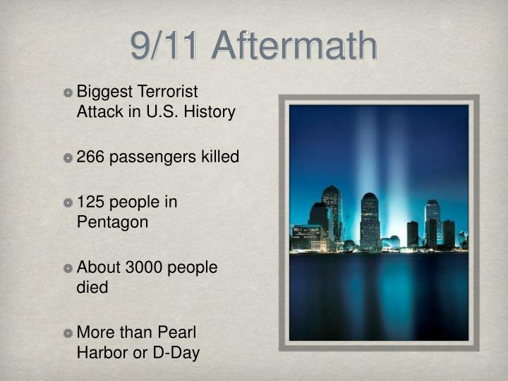 9/11 Aftermath