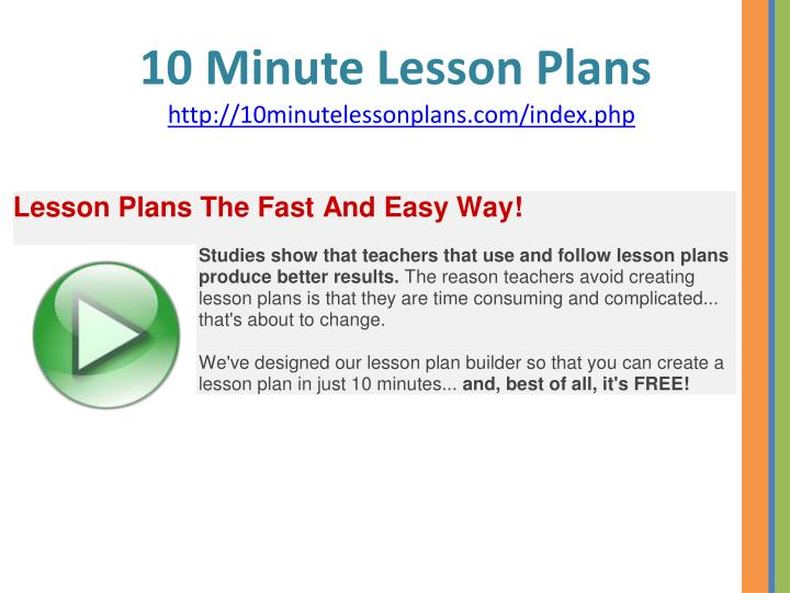 10 min adult lessons
