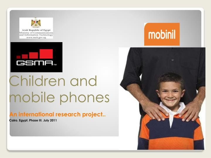Children and mobile phones