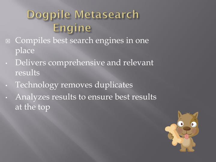 dogpile metasearch engine