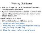 warring city states