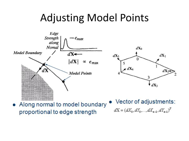 Adjusting Model Points