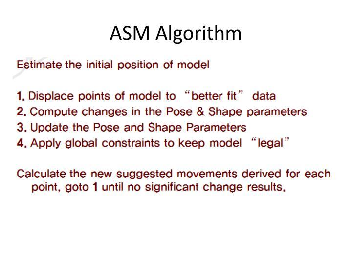 ASM Algorithm