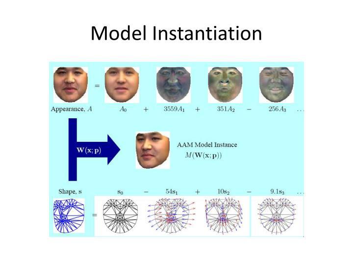 Model Instantiation
