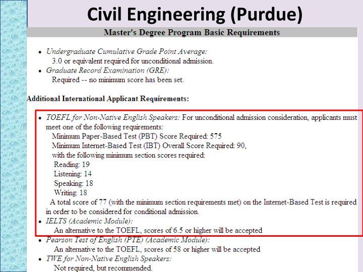 Civil Engineering (Purdue)