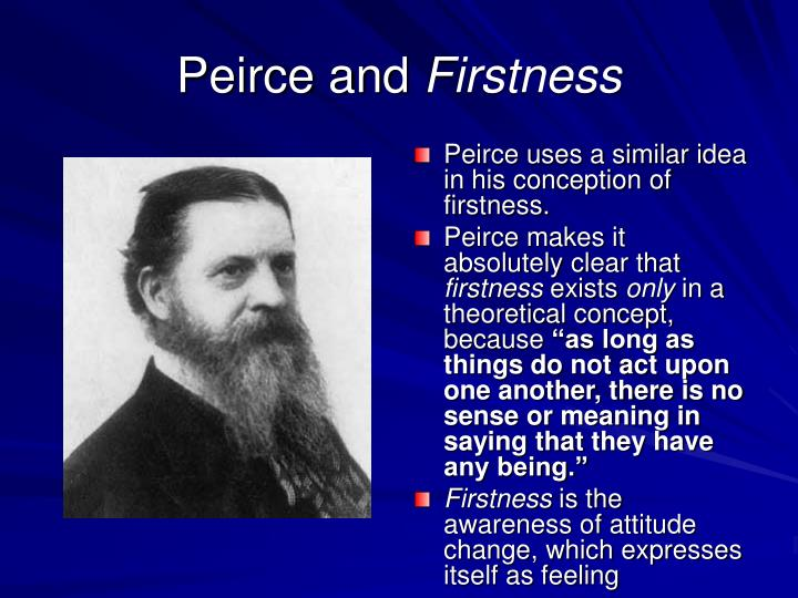Peirce and