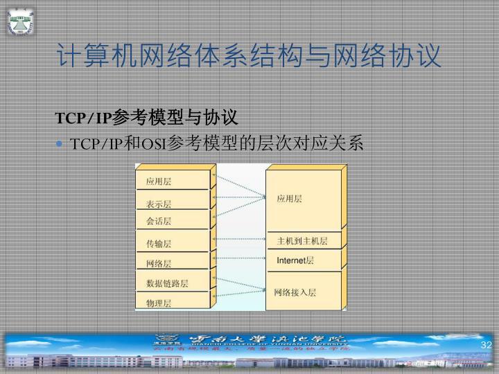 计算机网络体系结构与网络协议