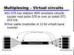 multiplexing virtual circuits