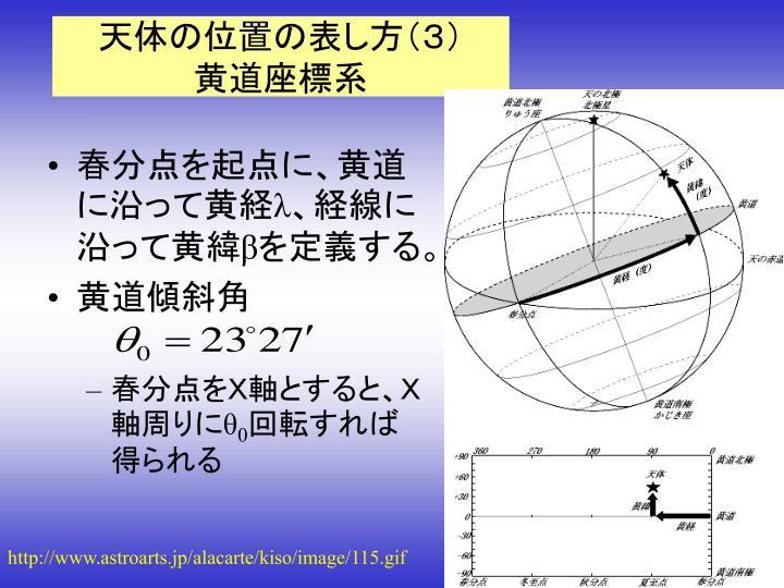 第2回 天球座標とその変換 - PowerPoint PPT Presentation