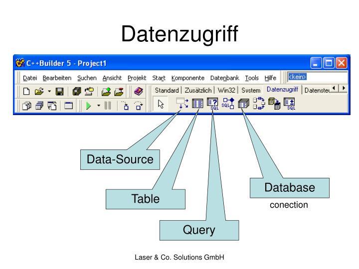 Datenzugriff
