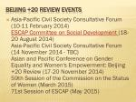 beijing 20 review events