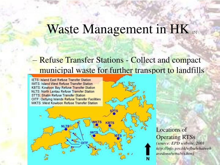 Waste Management in HK