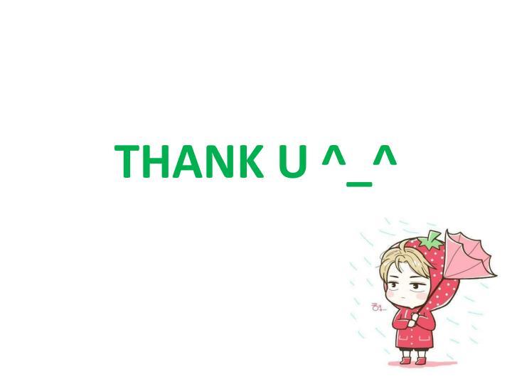 THANK U ^_^